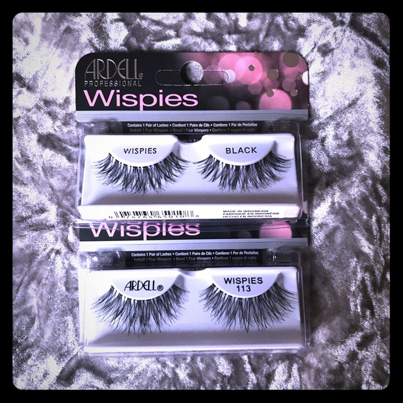 98bb89013a8 Ardell Makeup | Wispies And Style 113 False Eye Lashes | Poshmark